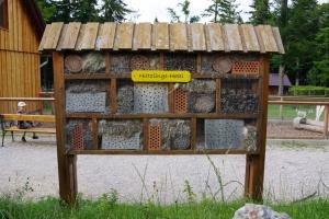 Hmyzí hotel nejen pro samotářské včely