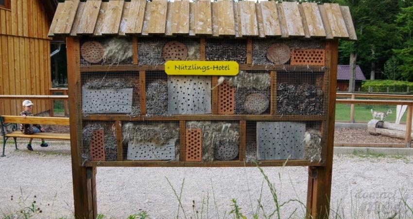 Hmyzí hotel - domeček pro včely samotářky
